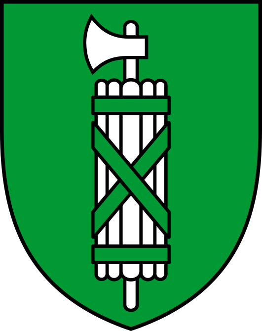 Coat of arms of canton of St  Gallen svg